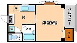 フローラルステージ成育[2階]の間取り