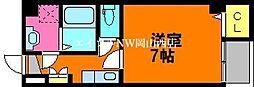 SEMS富田町 4階1Kの間取り