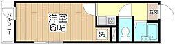 オペラシオンボォヌール竹の塚[201号室]の間取り