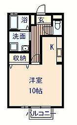 セジュール藤井 A棟[101号室]の間取り