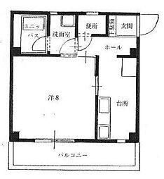 コンフォート英賀保[4階]の間取り