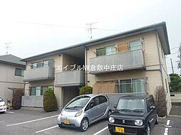 岡山県倉敷市茶屋町丁目なしの賃貸アパートの外観