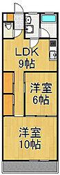 吉井ビル[3階]の間取り