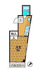 泰平ビル柿生[3階]の間取り