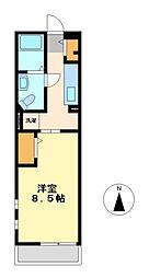櫓[3階]の間取り