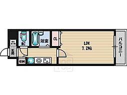 K緑地[4階]の間取り