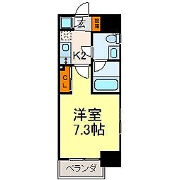 ライブコート泉[11階]の間取り