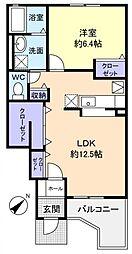 DreamIII[1階]の間取り