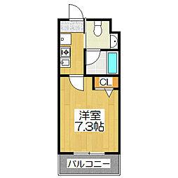 Succeed衣笠[203号室]の間取り