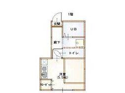 島田本町コーポ[1階]の間取り