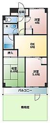 ブランピエール戸塚(ブランピエールトツカ)[1階]の間取り