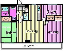ロイヤル山正マンション[5階]の間取り