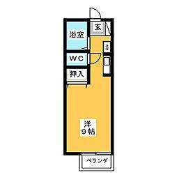 ホワイトメゾン高御堂[1階]の間取り