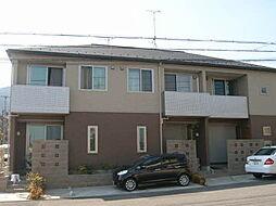 滋賀県大津市日吉台2丁目の賃貸アパートの外観