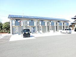 埼玉県鴻巣市屈巣の賃貸アパートの外観