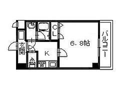 ローズステージ泉大津駅前[4階]の間取り