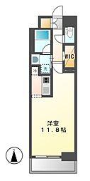 エルスタンザ名駅西[2階]の間取り