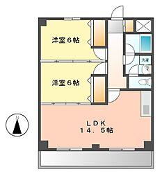 アーバンハイムII[2階]の間取り
