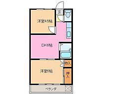 メゾンひかり館[2階]の間取り
