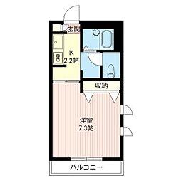 IZ[3階]の間取り