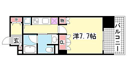 リーガル神戸海岸通[13階]の間取り