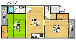 オーナーズマンション[1階]の間取り