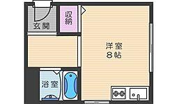千寿荘[N106号室]の間取り