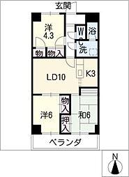 アコギマンション[2階]の間取り
