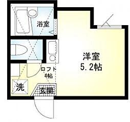 SOLA新子安[1階]の間取り