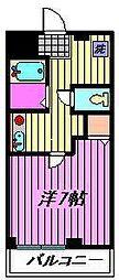 コーポフタバ[2階]の間取り