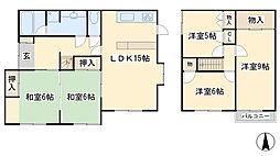 [一戸建] 福岡県北九州市小倉南区星和台2丁目 の賃貸【/】の間取り