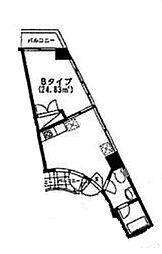 BAYSIDE90[6階]の間取り