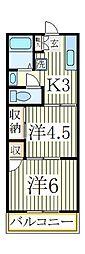 田中ビル[2階]の間取り