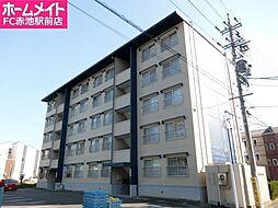 愛知県豊明市新田町子持松の賃貸マンションの外観