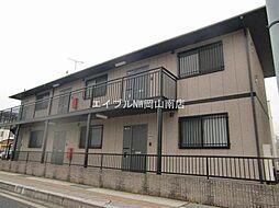 岡山県玉野市宇野2丁目の賃貸アパートの外観