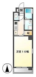 HIBINO RISE(ヒビノライズ)[5階]の間取り