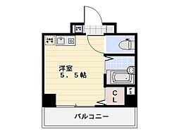 ラフィネ横須賀中央[304号室]の間取り