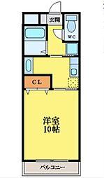 リファインハイツ[2階]の間取り