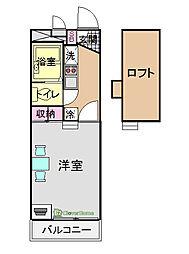 湯島[304号室]の間取り