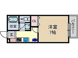 サンクリエイト2[2階]の間取り