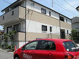 愛知県日進市岩崎台3丁目の賃貸アパートの外観