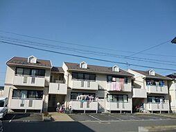 滋賀県東近江市八日市東浜町の賃貸アパートの外観
