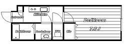 SOLEIL INAGE[1階]の間取り