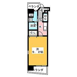 CHIKUSA AVANT-GARDE PLACE[6階]の間取り