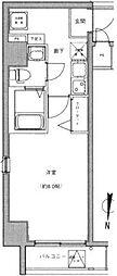 東京都墨田区両国2丁目の賃貸マンションの間取り
