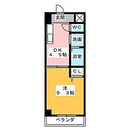 GRACE HEIM(グレイスハイム)[3階]の間取り