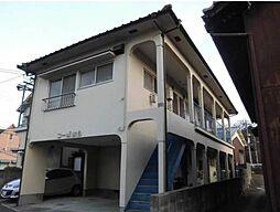 愛媛県松山市衣山4丁目の賃貸アパートの外観