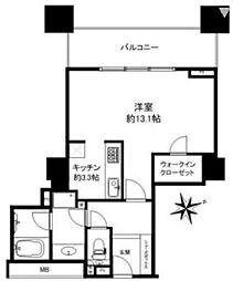 ザ・タワーグランディア[9階]の間取り