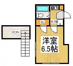 コロッセオ志木[2階]の間取り