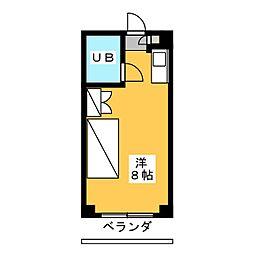 ときわマンション[3階]の間取り